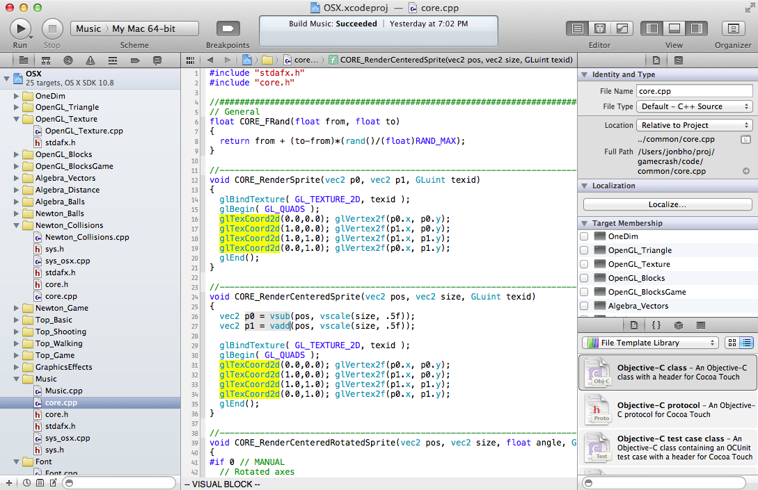 ViEmu for Xcode: vi-vim editing for Xcode